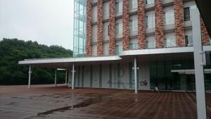 立正大学熊谷キャンパスのアカデミックキューブ